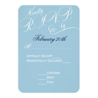 Change Background Color Wedding RSVP Card