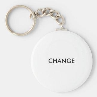 CHANGE BASIC ROUND BUTTON KEYCHAIN