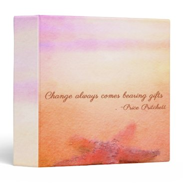 Beach Themed Change Binder