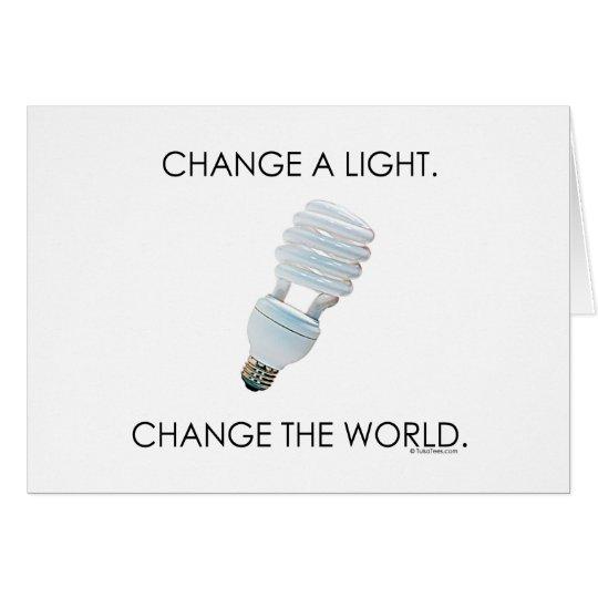 Change Bulb Card