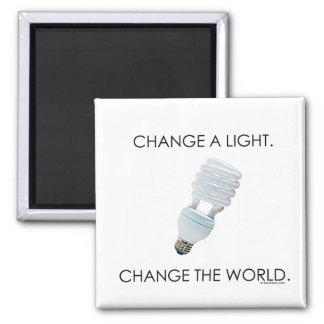 Change Bulb Refrigerator Magnets