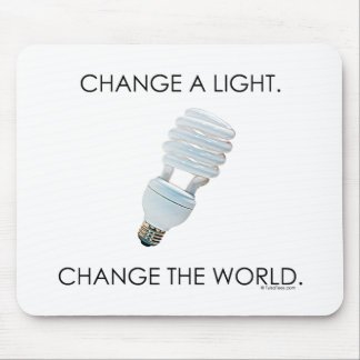 Change Bulb Mouse Pad