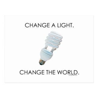 Change Bulb Postcard