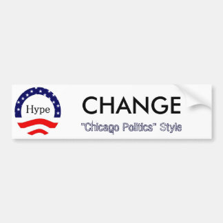 Change, Chicago Style Bumper Sticker