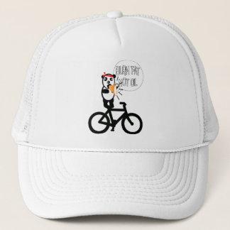 Change color background trucker hat