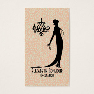 CHANGE COLOR Moi Fashion Plate ~ Business Card