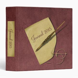 Change Date on Vintage Paper, Pen and Glasses Binder