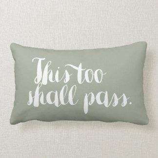 Change Endures - Motivational Pillow