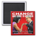 Change - Fist Bump Magnet (red)