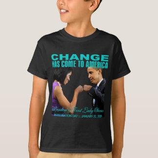 Change fist bump T-Shirt