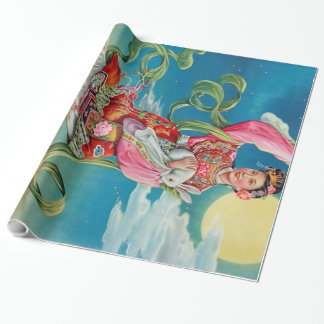 Chang'e Flying to the Moon Wrapping Paper