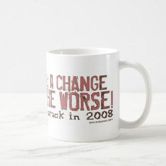 Change For The Worse! Mug