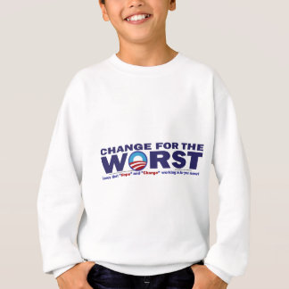 cHANGE-FOR-THE-wORST Sweatshirt