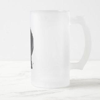 """Change..!"" Frosted Glass Mug"