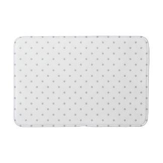 Change Grey Polka Dots Any Color Click Customize Bathroom Mat