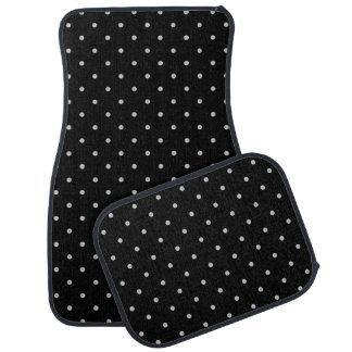 Change Grey Polka Dots Any Color Click Customize Car Mat