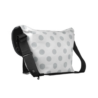 Change Grey Polka Dots Any Color Click Customize Courier Bag