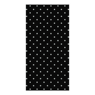 Change Grey Polka Dots Any Color Click Customize Customized Photo Card