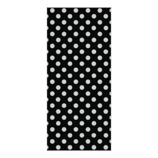 Change Grey Polka Dots Any Color Click Customize Rack Card