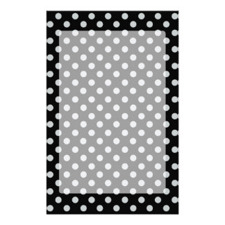 Change Grey Polka Dots Any Color Click Customize Stationery