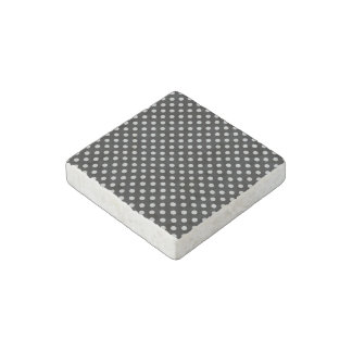 Change Grey Polka Dots Any Color Click Customize Stone Magnet