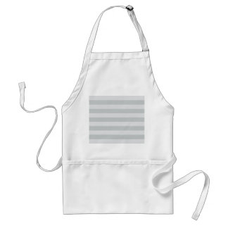Change Grey Stripes to  Any Color Click Customize Standard Apron
