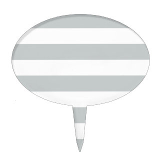 Change Grey Stripes to  Any Color Click Customize Cake Pick