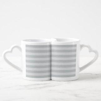 Change Grey Stripes to  Any Color Click Customize Coffee Mug Set