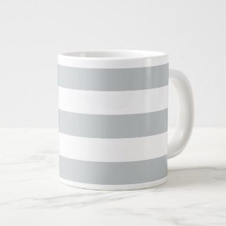 Change Grey Stripes to  Any Color Click Customize Giant Coffee Mug