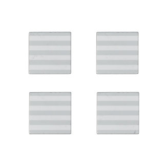 Change Grey Stripes to  Any Color Click Customize Stone Magnet