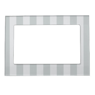 Change Grey Stripes to  Any Color Click Customize Magnetic Photo Frame
