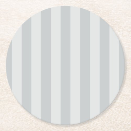 Change Grey Stripes to  Any Color Click Customize Round Paper Coaster