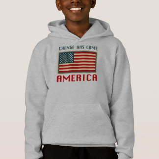 Change Has Come to America Obama Hoodie