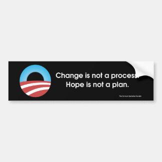 Change & Hope? Bumper Stickers