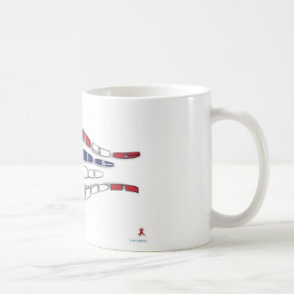 Change Hope into Action Classic White Coffee Mug