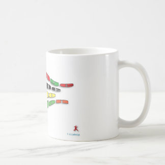Change hope into action. classic white coffee mug