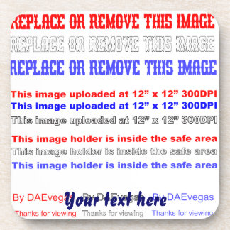 Change Image or delete Text Re-load to view Image Drink Coaster
