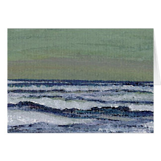 Change in the Weather - CricketDiane Ocean Art Card