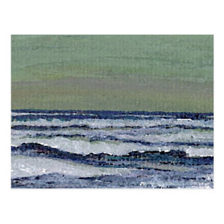Change in the Weather - CricketDiane Ocean Art Postcard