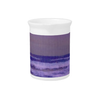 Change in the Weather Ocean Waves Seascape Beverage Pitcher