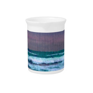 Change in the Weather Ocean Waves Seascape Beverage Pitchers