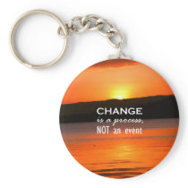 Change Is A Process Keychain