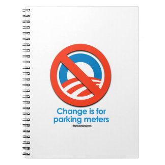 Change is for Parking Meters Note Book