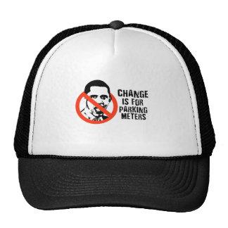 Change is for parking meters trucker hat