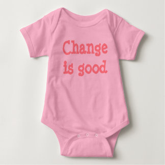 Change is good (pink) t-shirt