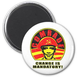 Change is Mandatory 2 Inch Round Magnet