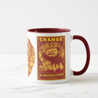 Change Is Mandatory! Comrade Obama Spoof Mug