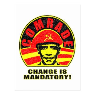 Change is Mandatory Postcard