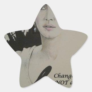 Change is NOT a Spectator Sport.jpg Star Sticker