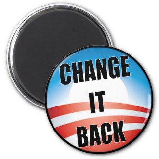 Change It Back 2 Inch Round Magnet